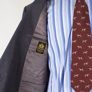 Oxxford Suits & Blazers - Oxxford 43R Gray Sport Coat B729